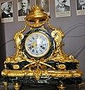 Pendulum clock in Bourvallais Hotel, Paris, France (2).jpg