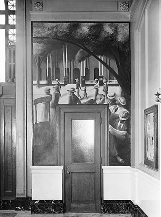 Treasury Relief Art Project - Image: Pene Du Bois Saratoga New York