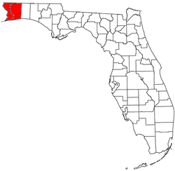 Map of Pensacola Metropolitan Area