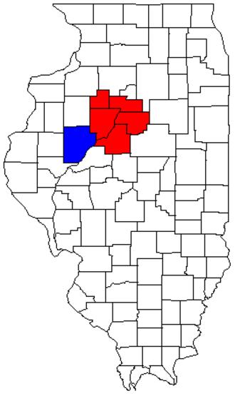 Peoria metropolitan area, Illinois - Image: Peoria Canton CSA