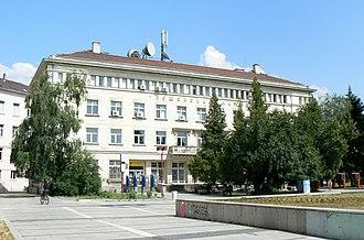 Pernik - Central post office