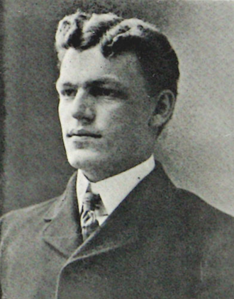 Perry Hale - Hale pictured in Makio 1901, Ohio State yearbook