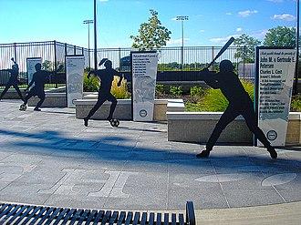 Petersen Sports Complex - Entrance plaza