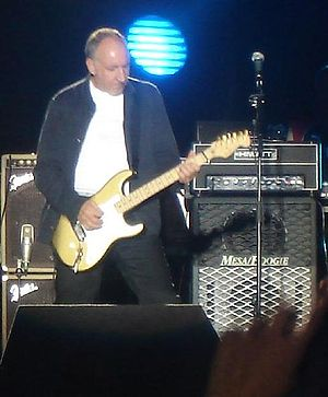 Pete Townshend at Beaulieu standing in front o...