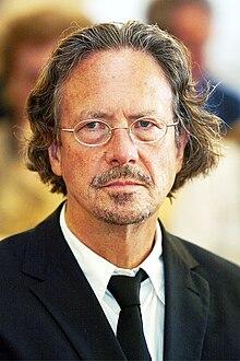Porträt Peter Handke.