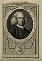Peter Collinson. Line engraving by T. Trotter, 1783. Wellcome V0001195.jpg