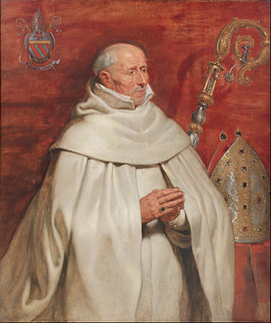 St. Michael's Abbey, Antwerp - Abbot Yrsselius, portrait by Rubens