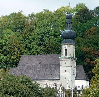 Trostberg Place in Bavaria, Germany