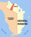 Ph locator oriental mindoro baco.png