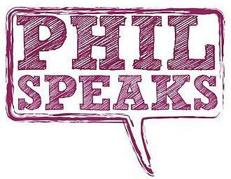 University Philosophical Society - Phil Speaks Logo