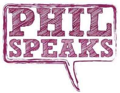 Phil Speaks Logo