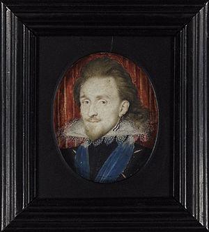Isaac Oliver - Image: Philip Herbert, Fourth Earl of Pembroke (Oliver, 1611)