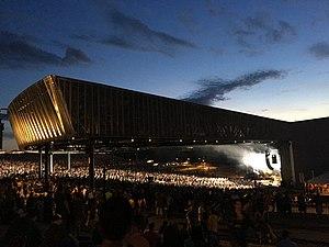Lakeview Amphitheater - Image: Phish amphitheatre