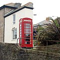 Phone box overlooking Tregenna Hill, St Ives - geograph.org.uk - 1549469.jpg