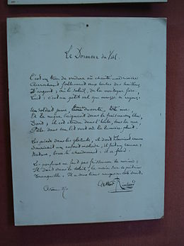 Photo manuscrit Le dormeur du Val.JPG