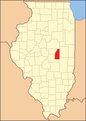 Piatt County, Illinois - Image: Piatt County Illinois 1841