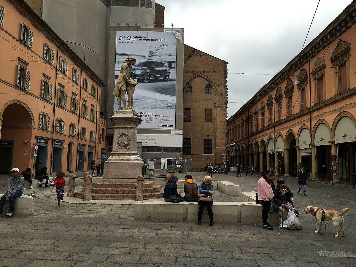 Piazza galvani wikipedia - Piazza di porta saragozza bologna ...