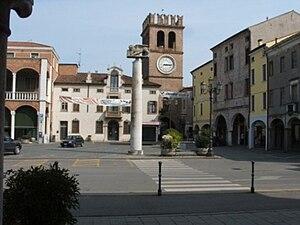 """Lendinara - Risorgimento (""""Resurgence"""") Square in Lendinara"""