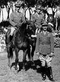 Piero and Raimondo D'Inzeo with Antonio Gutierrez.jpg