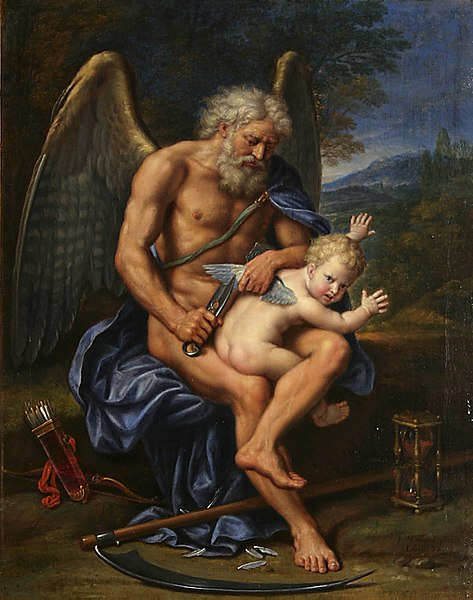 Pierre Mignard (1610-1695) - Time Clipping Cupid's Wings (1694).jpg