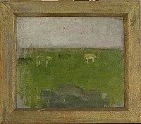 Piet Mondriaan - Landscape with four cows in profile - 0334242 - Kunstmuseum Den Haag.jpg