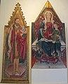 Pietro da talada (maestro di borsigliana), frammenti di trittico, 1463, da s. rocco di rocca soraggio (LU).JPG
