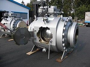 Кран подземной установки для газа