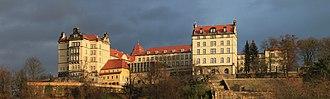 Sonnenstein Castle - Sonnenstein castle (December 2011)