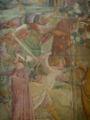 Pisa, Camposanto trionfo della morte 12 fighting angels.JPG