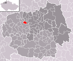 Location of Píšťany