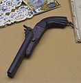 Pistola de dos canons per a bales del sistema Lefaucheux, Museu Soler Blasco de Xàbia.JPG