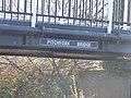 Pitchfork Bridge - Birmingham Canal Navigations Old Main Line - Tipton - sign (27010125589).jpg
