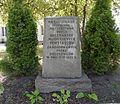 Place of National Memory at 37 Wolska Street in Warsaw (backyard) 02.JPG