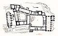 Plan du palais des Papes d'Avignon par Joseph ROSIER.jpg