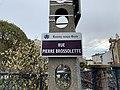Plaque Rue Pierre Brossolette - Rosny-sous-Bois (FR93) - 2021-04-15 - 2.jpg
