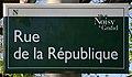 Plaque Rue République - Noisy-le-Grand (FR93) - 2021-04-24 - 1.jpg