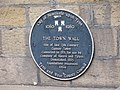 Plaque re the Gunner Tower, Pink Lane - geograph.org.uk - 889891.jpg