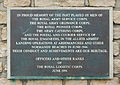 Plaque royal logistic corps 1944 1994.jpg