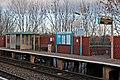 Platform furniture, Shotton High Level railway station (geograph 3800362).jpg