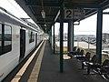 Platform of Kadomatsu Station.jpg