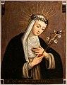Plautilla nelli (attr.), santa caterina da siena, su rame (uffizi).jpg