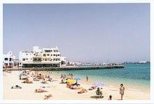 La spiaggia di Corralejo