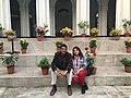 Playwright Suman Pokhrel and theater artist Nisha Sharma (31650418218).jpg