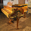 Pleyel Piano with Lustrous, Vernis Martin, Louis XV Style Case.jpg