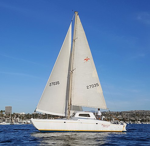Polynesian Concepts yacht designed and built by Buddy Ebsen photo D Ramey Logan.jpg