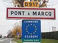 Pont-à-Marcq-FR-59-panneau d'agglomération-03.jpg
