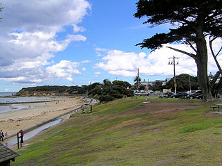 Point Lonsdale Town in Victoria, Australia