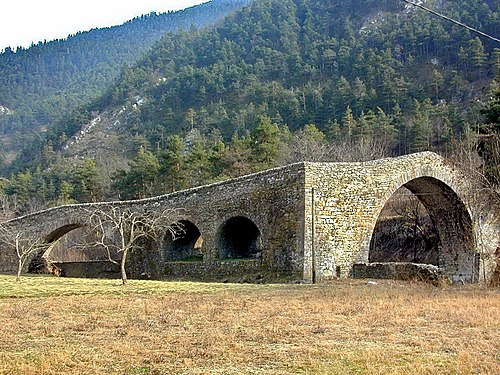 Photo - Pont du Coq sur la Lévanza