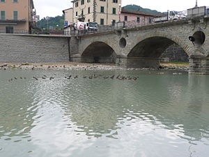 Bidente-Ronco - The Ponte Vecchio over the Bidente-Ronco at Santa Sofia