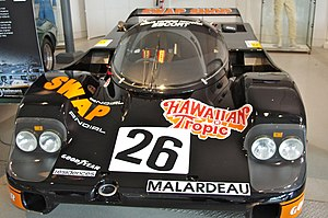 1984 24 Hours of Le Mans - The Porsche 956 which placed second in the 1984 24 Hours of Le Mans